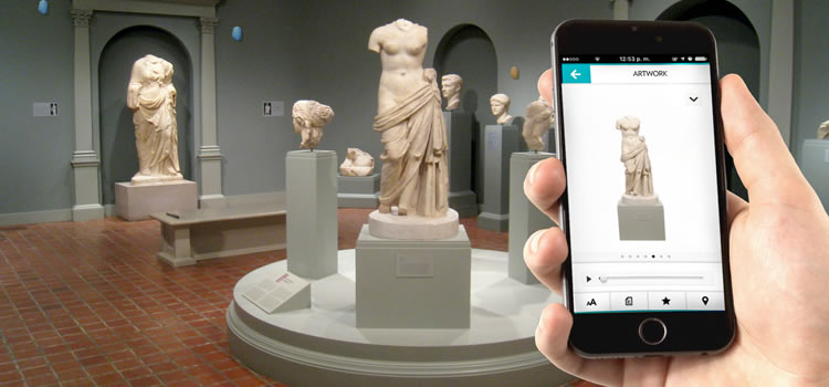 beacons in museos